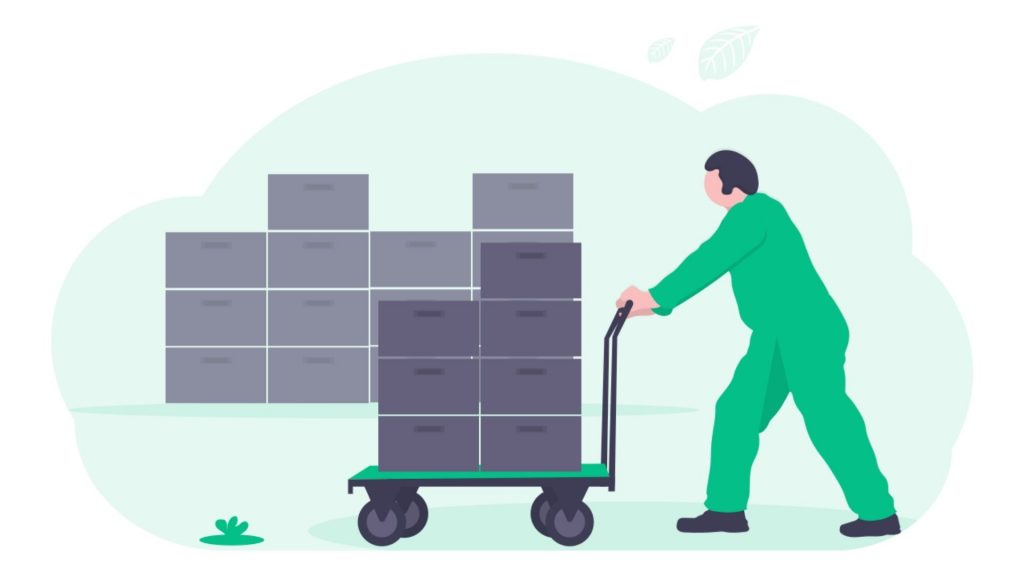inventory management and storage ecommerce order simple global